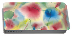 Floral Burst Portable Battery Charger