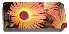 Portable Battery Charger featuring the photograph Floral by Cathy Mahnke