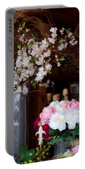 Floral Display Portable Battery Charger