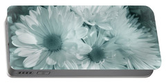 Floral Serendipity Portable Battery Charger by Cathy  Beharriell