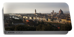 Florence Form The Piazza Michalengelo Portable Battery Charger by Belinda Greb