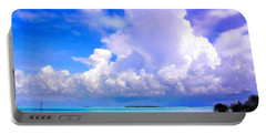 Florida Bay At Shell Pass Filtered Portable Battery Charger