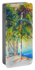 Florida Inspiration  Portable Battery Charger by Chrisann Ellis