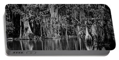 Florida Naturally 2 - Bw Portable Battery Charger by Christopher Holmes