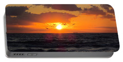 Florida Sunrise Portable Battery Charger by MTBobbins Photography