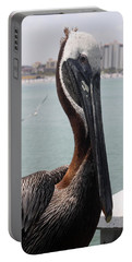 Portable Battery Charger featuring the photograph Florida's Finest Bird by David Nicholls