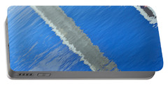 Floridian Abstract Portable Battery Charger by Keith Armstrong