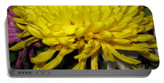 Yellow Queen. Beautiful Flowers Collection For Home Portable Battery Charger