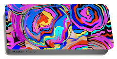 Abstract Art Painting #2 Portable Battery Charger