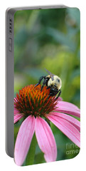 Flower Bumble Bee Portable Battery Charger
