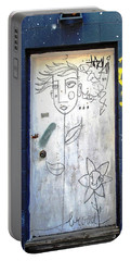 Portable Battery Charger featuring the photograph Flower Faces by Ethna Gillespie