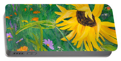 Flower Fun Portable Battery Charger