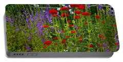 Flower Garden Portable Battery Charger