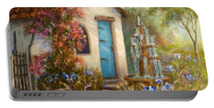 Flower Garden Paintings Portable Battery Charger