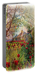 Flower Garden Series 02 Portable Battery Charger