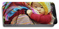 Flower Hmong Baby 04 Portable Battery Charger