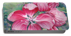 Flower Of Crab-apple Portable Battery Charger