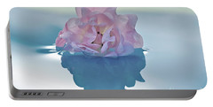Flower On Water Portable Battery Charger