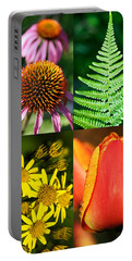 Flower Photo 4 Way Portable Battery Charger