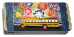 Flower Power Portable Battery Charger by Ron Davidson