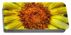 Flower Power Portable Battery Charger by Tina  LeCour