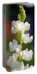 Flower Portable Battery Charger by Tiffany Erdman