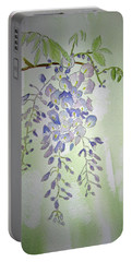 Flowering Wisteria Portable Battery Charger