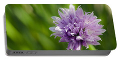 Flowering Chive Portable Battery Charger