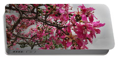 Flowers And Thorns And The Sky Adorned  Portable Battery Charger