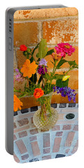 Flowers From North Texas Garden Portable Battery Charger
