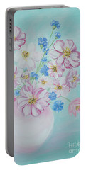 Flowers In A Vase. Inspirations Collection Portable Battery Charger