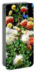 Flowers In Bloom Portable Battery Charger