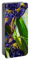 Flowers In Your Hair II Portable Battery Charger