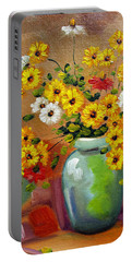 Flowers - Still Life Portable Battery Charger