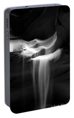 Portable Battery Charger featuring the photograph Flowing Sand In Antelope Canyon by Lucinda Walter