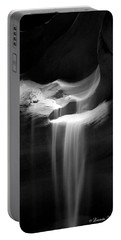 Flowing Sand In Antelope Canyon Portable Battery Charger