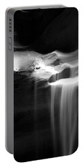 Flowing Sand In Antelope Canyon Portable Battery Charger by Lucinda Walter