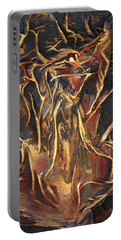 Flowing Tree Woman Portable Battery Charger