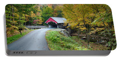 Flume Gorge Covered Bridge Portable Battery Charger