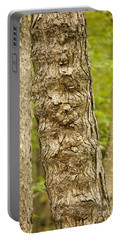 Fluted Tree Portable Battery Charger by Carol Lynn Coronios