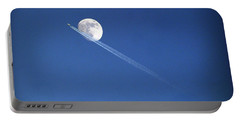 Fly Me To The Moon Portable Battery Charger