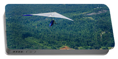 Portable Battery Charger featuring the photograph Flyin High by Susan  McMenamin