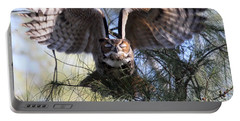 Flying Blind - Great Horned Owl Portable Battery Charger
