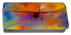 Flying Into A Rainbow Portable Battery Charger