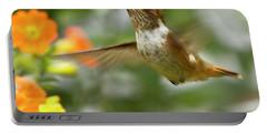 Flying Scintillant Hummingbird Portable Battery Charger