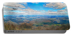 Flying The Sky Blue Ridge Parkway Portable Battery Charger by Betsy Knapp