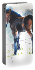 Foal Painting Portable Battery Charger