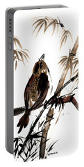 Portable Battery Charger featuring the painting Focus by Bill Searle