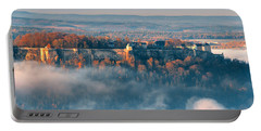 Fog Around The Fortress Koenigstein Portable Battery Charger