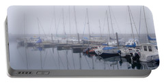 Fog In Marina I Portable Battery Charger